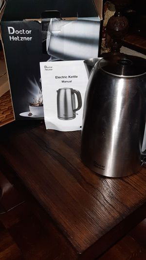 Electric Kettle- stainless steel for Sale in Evansville, IN