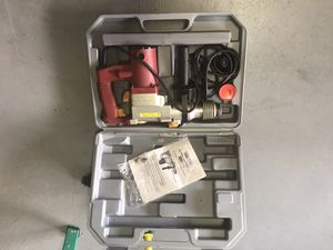"Chicago Power Tools 1"" rotary hammer for Sale in Houston, TX"
