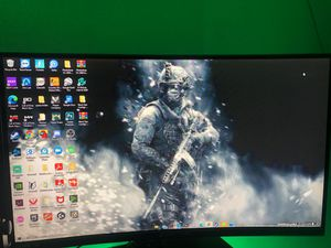 Sceptre 27 inch curved monitor 144hz 1ms for Sale in Staten Island, NY
