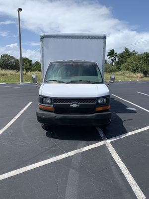 Clean title in hand 2005 Chevy box truck 12 foot also has Dooley tires in the back runs great for Sale in Oakland Park, FL