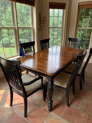 Kitchen table and 6 chairs for Sale in Walpole, MA