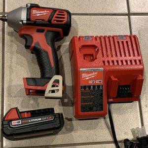 M18 Milwaukee 3/8 Impact Battery Charger for Sale in Los Angeles, CA