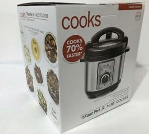 """COOKS FAST POT JR. MULTI COOKER- """" NEW"""" (FIRM PRICE) for Sale in Los Angeles, CA"""