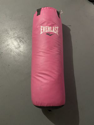 Everlast punching bag for Sale in Riverview, FL