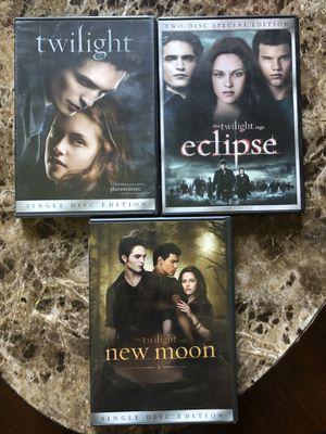 Twilight dvds for Sale in Ocean Township, NJ