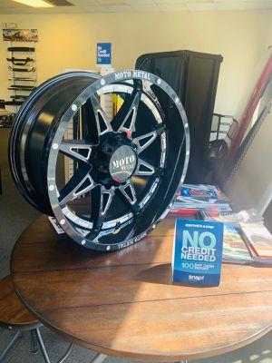 ⭐Brand New - 20x10 Moto 993 Gloss Black Milled Wheels for Sale in Lilburn, GA