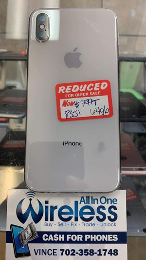 IPHONE X 64GB TMOBILE UNLOCKED for Sale in Las Vegas, NV