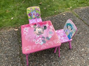 Kids table and chairs set for Sale in Kent, WA
