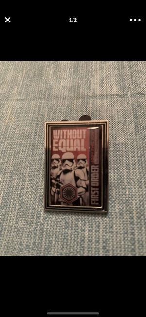 Disney World Star Wars Pin- Came in a mystery pack for Sale in Weston, FL