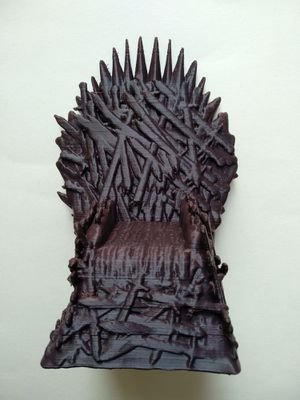 Game of Thrones' Throne/Chair 3D Printed PLA for Sale in Longwood, FL