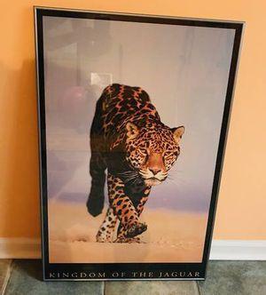 Kingdom of the Jaguar framed art poster. for Sale in Chicago, IL