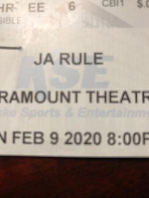 Ja rule tickets for Sale in Thornton, CO