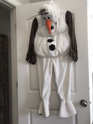 Authentic Frozen Disney Store Olaf Costume for Sale in Marvin, NC