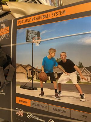 Lifetime 44 inch basketball hoop portable for Sale in Grove City, OH