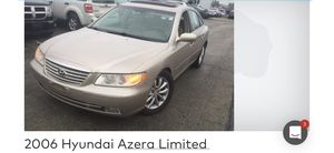 2006 Hyundai Azera limited loaded with options leather sunroof wheels and more for Sale in Mokena, IL
