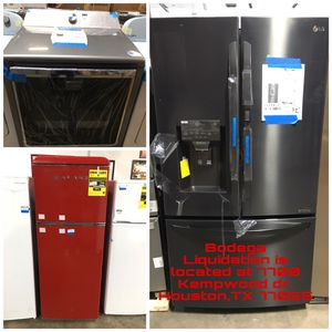 Samsung—KitchenAid—Lg—GE—Whirlpool—Thermador—Viking—Jennair—Frigidaire -> Home Appliances at Bodega Liquidation for Sale in Houston, TX