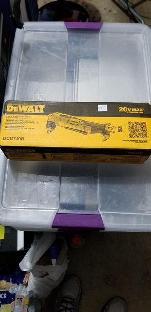 DeWalt right angle drill driver for Sale in Darnestown, MD