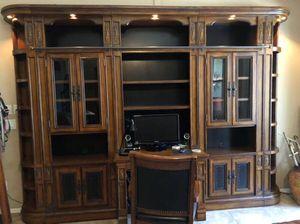 Desk and Shelves for Sale in Sun City, AZ