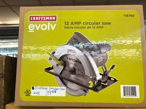Craftsman's circular saw for Sale in Fort Worth, TX