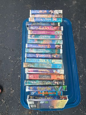 Disney VHS tapes and others set of 19 for Sale in Reynoldsburg, OH