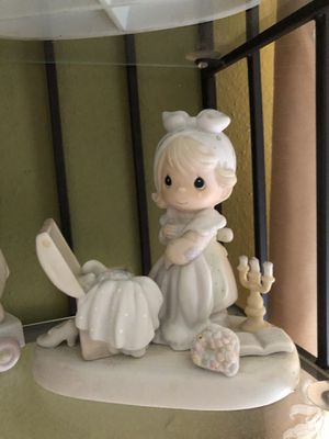 Precious moments porcelain precious memories for Sale in Dallas, TX