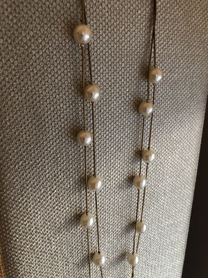 LAYERED NECKLACE with pearls for Sale in Bethpage, NY