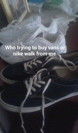 Vans and nike walk for Sale in Hiawatha, IA