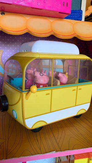 Pepa pig big camper for Sale in Fontana, CA