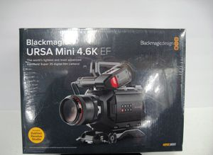 Blackmagic Design URSA Mini 4.6K Digital Cinema Camera EF-Mount NEW for Sale in Los Angeles, CA