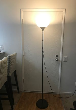 Black Standing Lamp for Sale in Irvine, CA