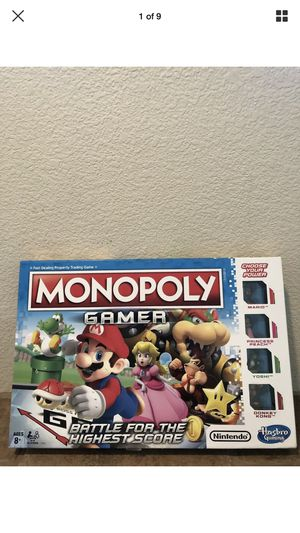 Monopoly Super Mario Bros Board Game for Sale in San Jose, CA
