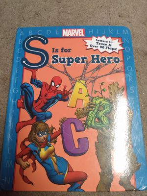 Super hero flap book for Sale in Portland, OR