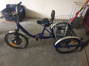 New Cozy trikes electric Bicycle for Sale in Ruston, WA