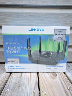 Linksys AC2200 Max Stream Router for Sale in Bellevue, TN