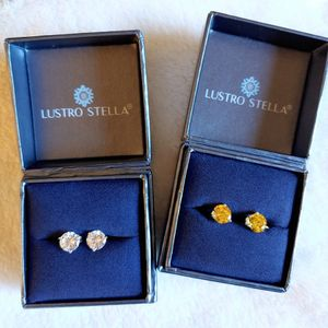 New 💝 (2 Pair) Lustro Stella Earrings for Sale in Pompano Beach, FL