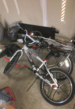 2 mongoose Rebel Bikes for Sale in Chicago, IL