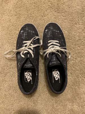 Vans size 7.5 only worn twice for Sale in Noblestown, PA