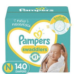 Pampers Swaddler Diapers - Size NewBorn - 140ct for Sale in El Monte, CA