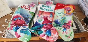 New 3 trolls stockings for Sale in Long Beach, CA