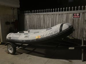 2001 Caribe 9.1ft 15hp Honda Outboard for Sale in San Francisco, CA