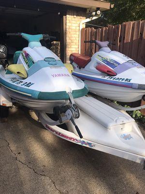 2 Yamaha jet skis for Sale in Rowlett, TX