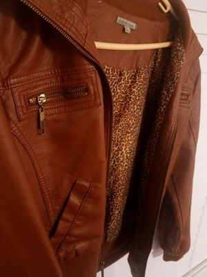 Brown leather jacket for Sale in Dinuba, CA