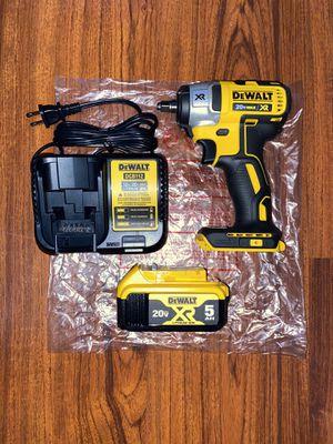 """Dewalt 20v Max XR Brushless 3/8"""" impact wrench (DCF890) (1) dewalt 20v XR max 5.0 Ah Battery (DCB205) (1) 12v/20v Charger for Sale in The Bronx, NY"""