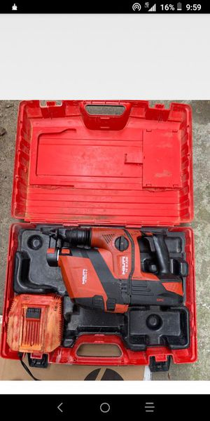 36-Volt B36/5.2 Lithium-Ion 1/2 in. SDS Plus Cordless Rotary Hammer TE 6-A36 Industrial with DRS Kit for Sale in Waltham, MA