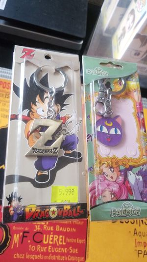 SET of anime keychains - dbZ and Luna for Sale in Los Angeles, CA