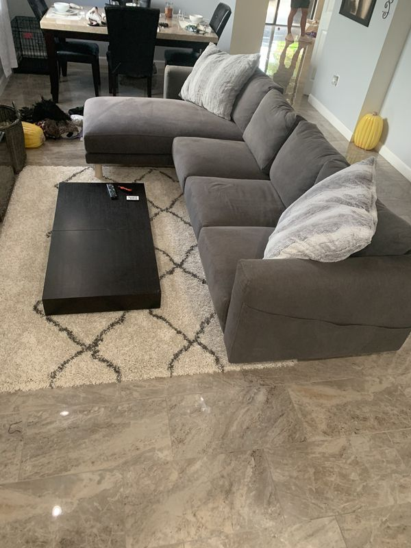 Sectional (changeable side) excellent condition