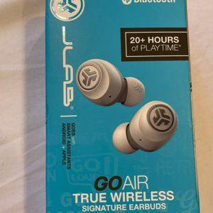 JLAB GoAir True Wireless Earbuds-White for Sale in Pomona, CA