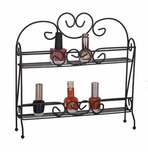 Uniware 2-Tier Over the Door Nail Polish Rack in Bronze for Sale in Hialeah, FL