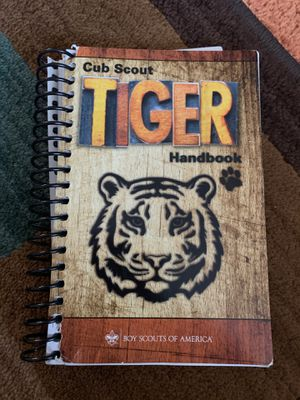 Cub Scout Tiger handbook (old version) for Sale in San Jose, CA