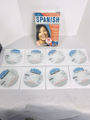 Learn Spanish now Platinum 8 CD-ROM Windows/MAC for Sale in Pawtucket, RI